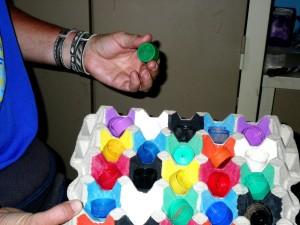 homemade, game, mixing, matching, one, activity, children, enjoy
