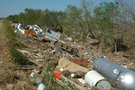 debris, hurricane