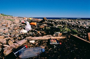 vervuiling, zee