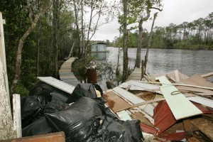 waste, river, mainly, wood, chipboard