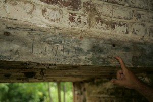 markings, historical, wood