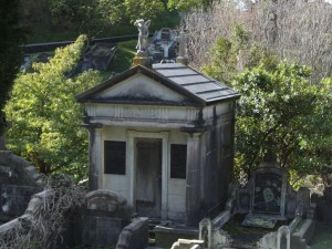 Mausoleum, Karori, Friedhof