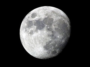 Månen, astrologi, udforskning, plads