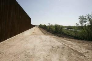 nouvelle, frontière, ligne, mur
