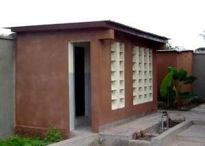 new, latrines, school children