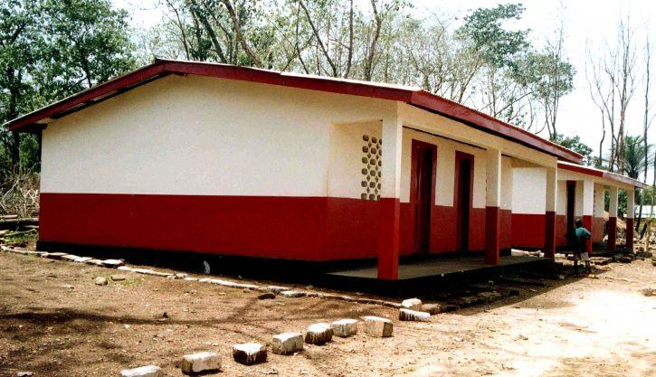 new, school, Sierra Leone