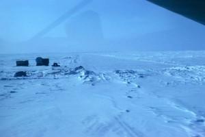 objets, de la neige, la distance