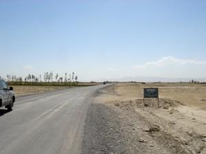 asfalterte, veien, leder, måte, utvikling