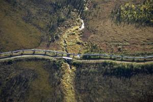 pipeline traversant
