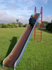 Детска площадка, слайд