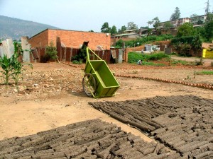 recycling, project, Kigali, cleans, neighborhoods, creates, jobs, fuel, briquettes