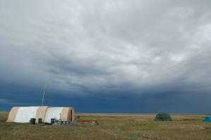 onderzoek, camping, tenten