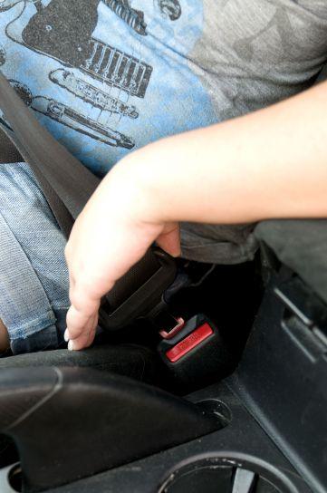 sikring, bil, sikkerhedssele, låsen