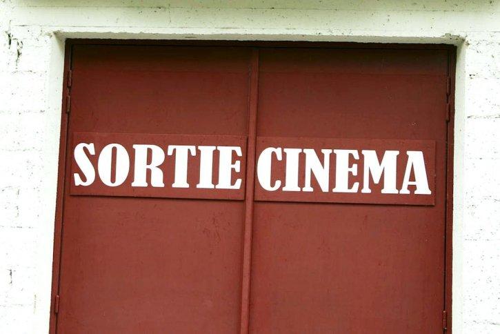 salida, el cine
