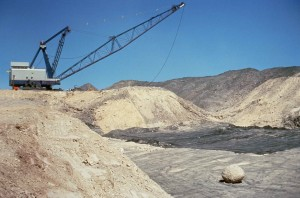 bande, l'exploitation minière