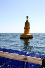 buoy, sean, water, San San Salvador, marine, object