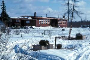 village, école