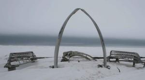 velryba, kosti, kůže, člun, rámečky, barrow, Aljaška