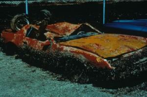 zebra, mussels, encrust, damaged, orange, car