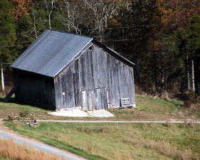 barn, hill, southwest, Virginia