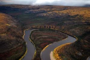 rivière, septembre, scénique