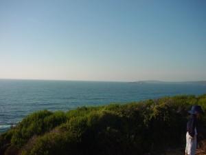 Bucht, panorama, ausblick, Natur