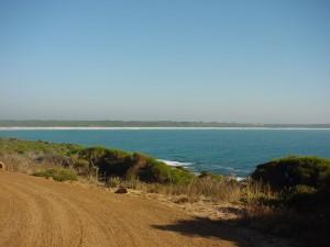 bremer, bay, panorama, landcsape