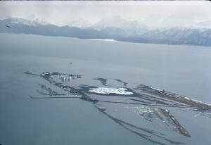 kachemak, bay, aerial, photo
