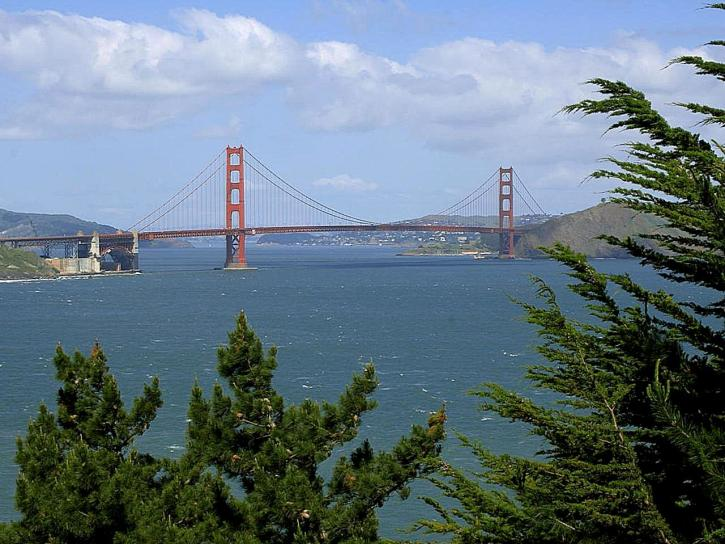 San Francisco, uvala, most