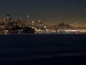 San Francisco, skyline, bay