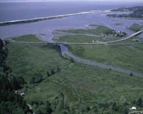 Siletz, baie, parc national