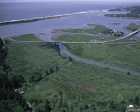siletz, bahía, el parque nacional