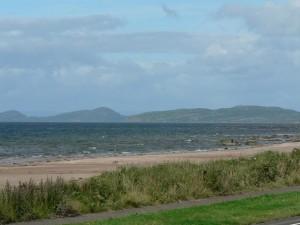 beach, view