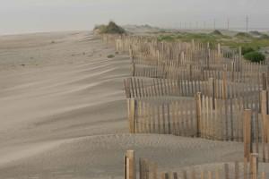 clôture, plage