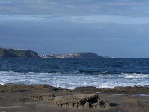 dudley, beach, way, back, castle