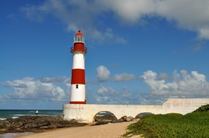 lighthouse, tower, beach