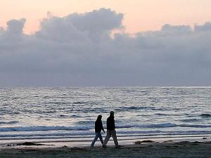 ocean, beaches, walking