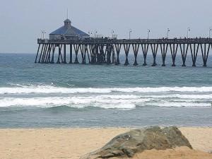 pier, imperial, beach