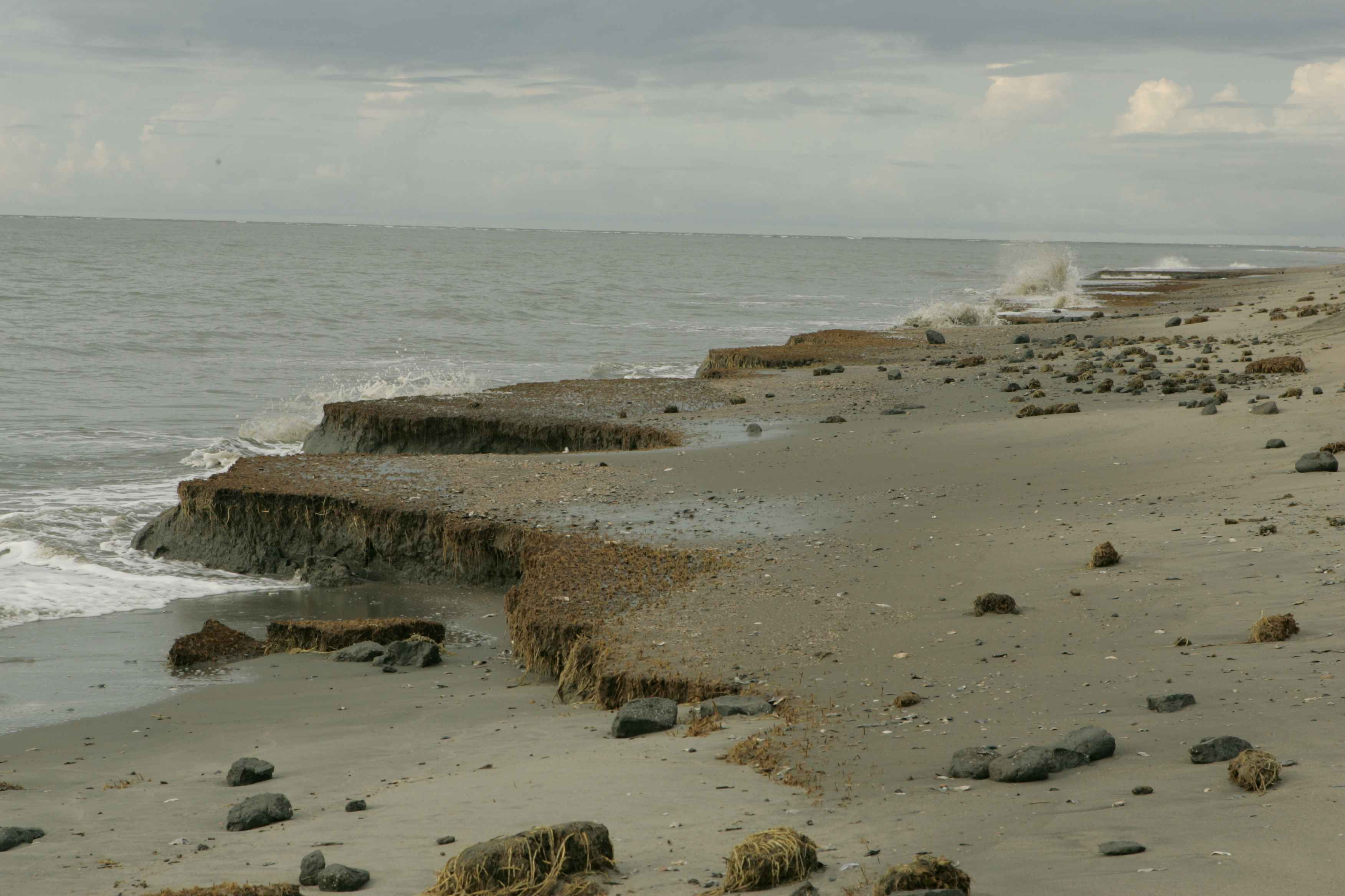 the cause of effect of beach erosion