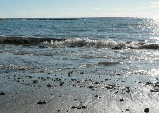 stones, beach