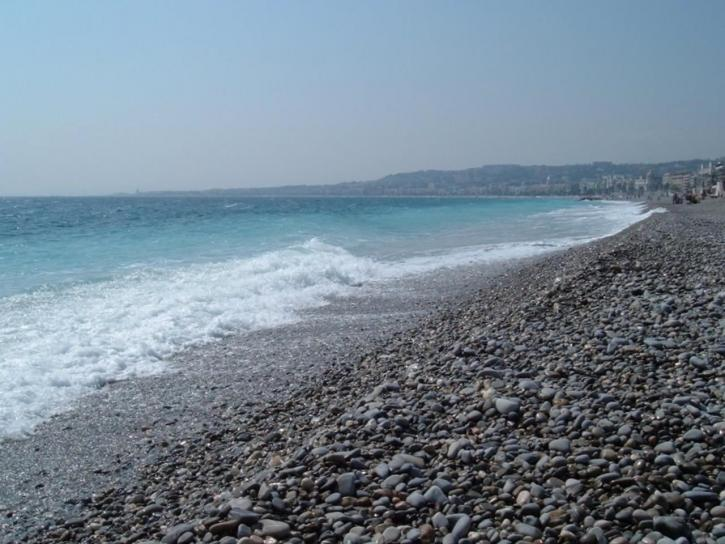 stony, beach