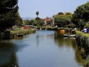venice, beach, canals