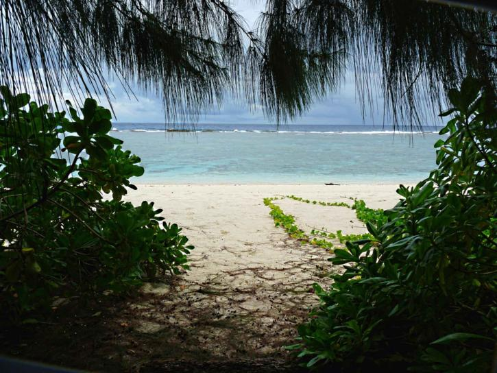 ritidian, beach, trees, Guam, national park