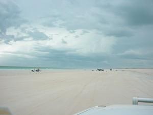 white, beach