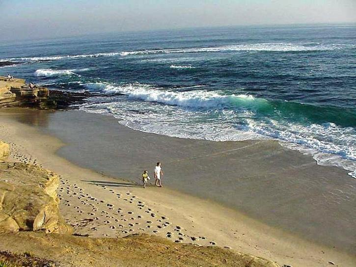 white sand, beach