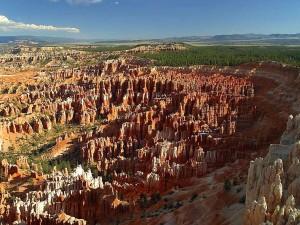 bryce, canyon, landscape