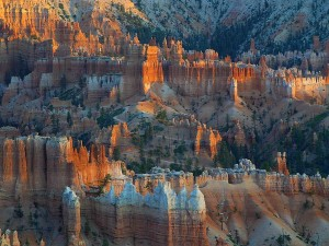 bryce, canyon, sunrises