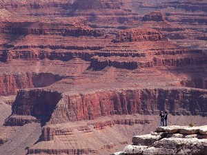 grand, canyon, hikers