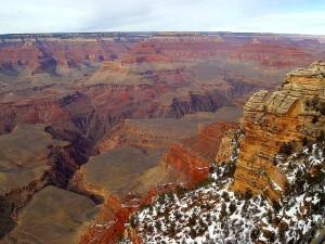 grand, canyons, Arizona, désert