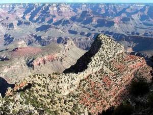 grandes, canyons, falaises